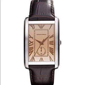 Never worn Men's Emporio Armani watch